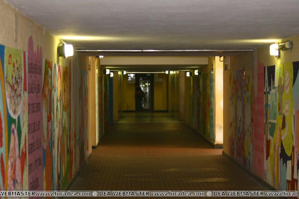murales sottopassaggio stazione sestri