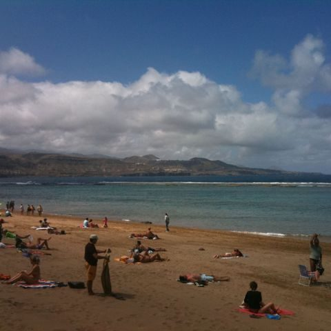 las palmas spiaggia