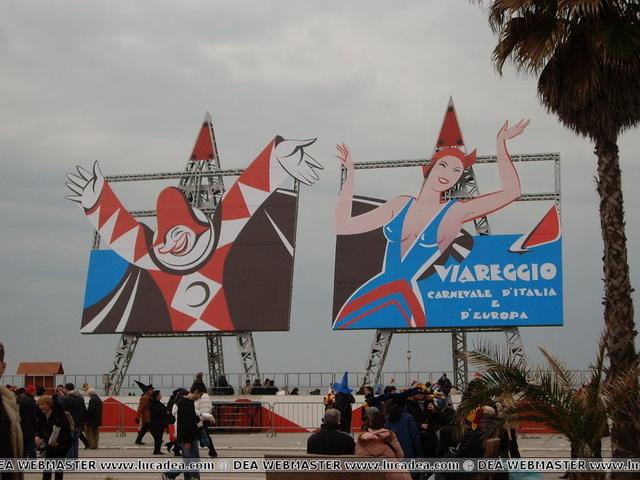 Foto del Carnevale di Viareggio 2007