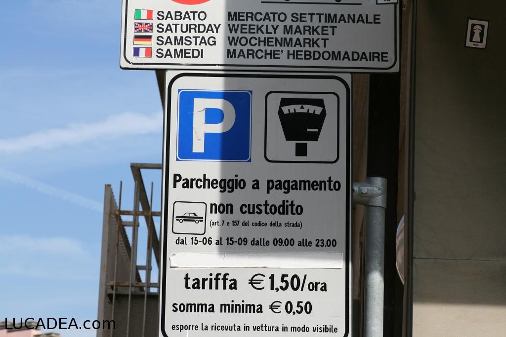 parcheggi gratis sestri levante