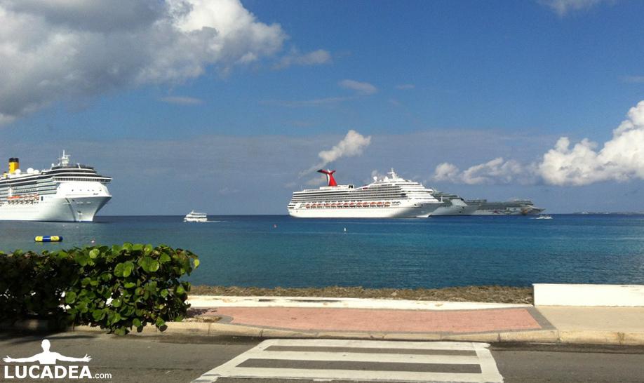 navi da crociera ai caraibi