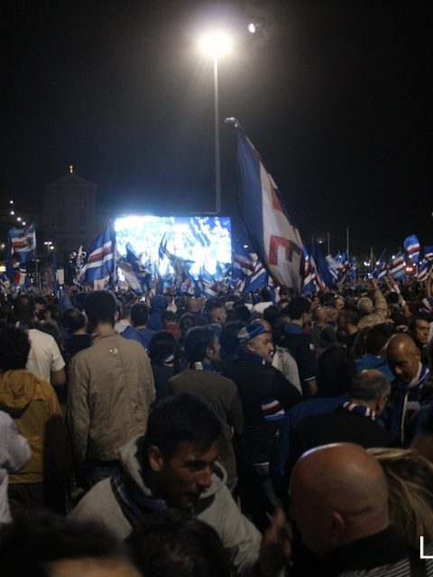 Sampdoria in serie A