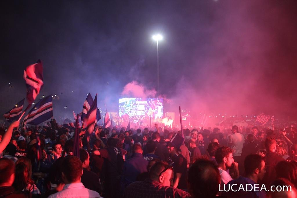 tifosi sampdoria piazzale kennedy 20