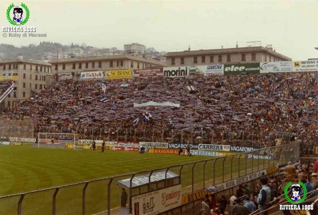Sampdoria-Verona 1984/1985