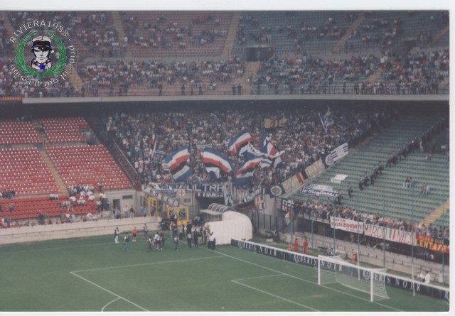 Milan-Sampdoria 1994/1995 Supercoppa italiana