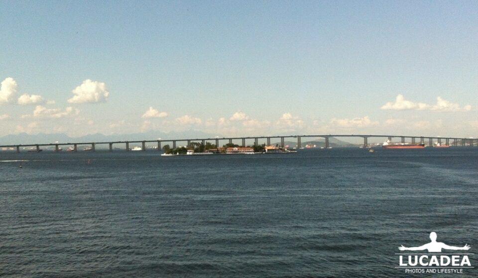 Ponte di Rio vista dalla nave