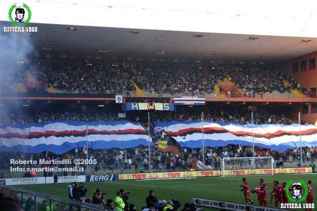 Sampdoria-Bologna 2004/2005
