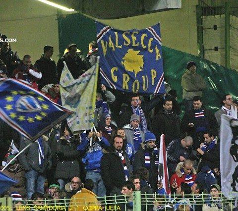 Lens-Sampdoria 2005/2006 coppa Uefa