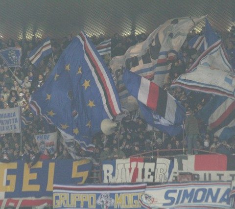 Sampdoria-Herta Berlino 2005/2006 coppa Uefa