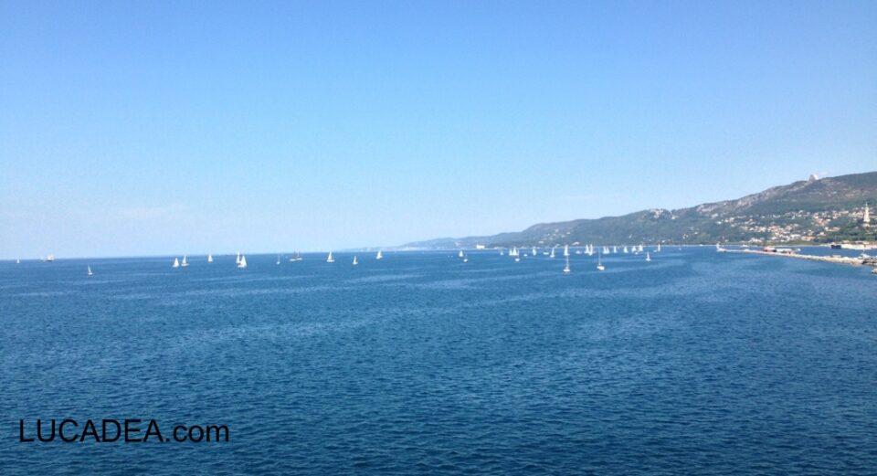 Barchette a Trieste