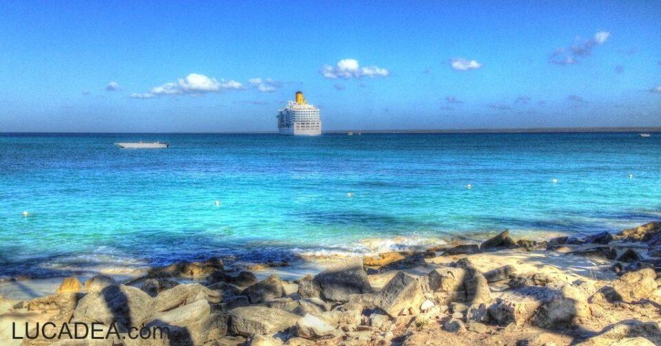 Costa Luminosa vista da Catalina Island