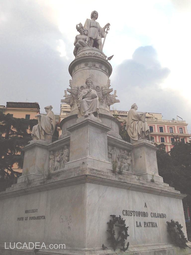 statua cristoforo colombo genova