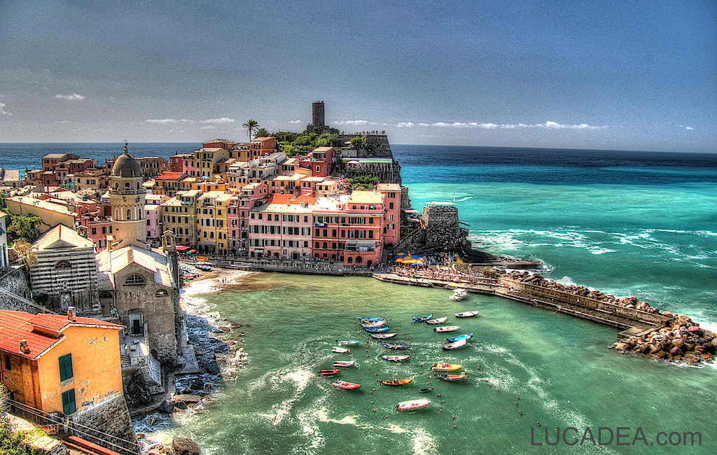 vernazza in hdr