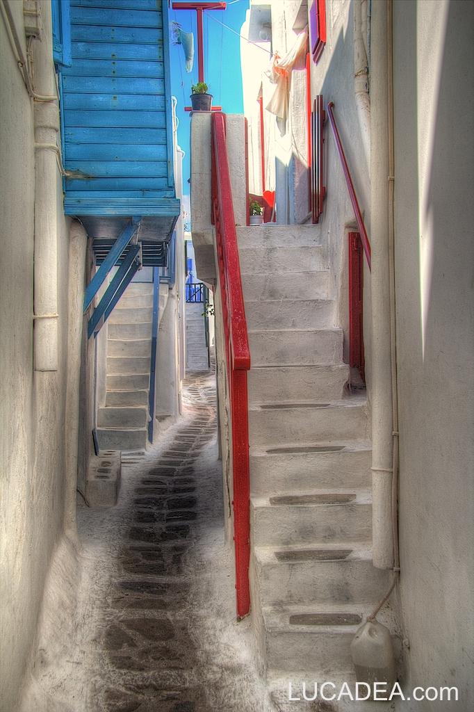 Strade di Mykonos