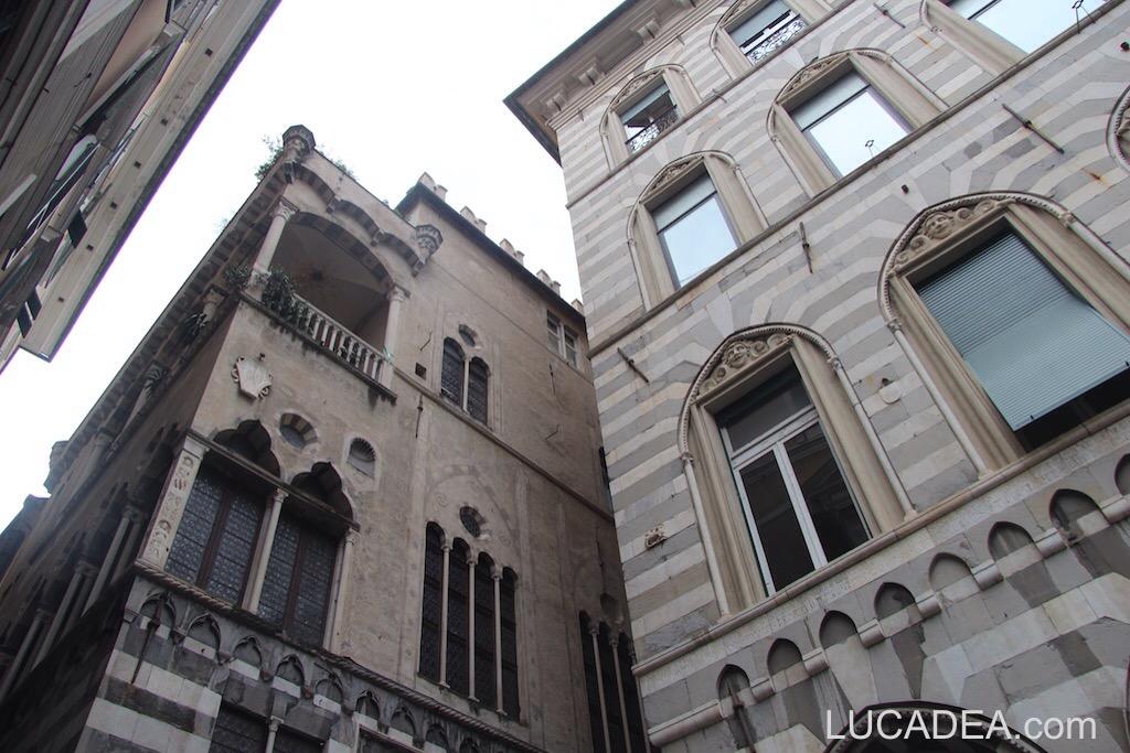 Scorcio dei vicoli di Genova