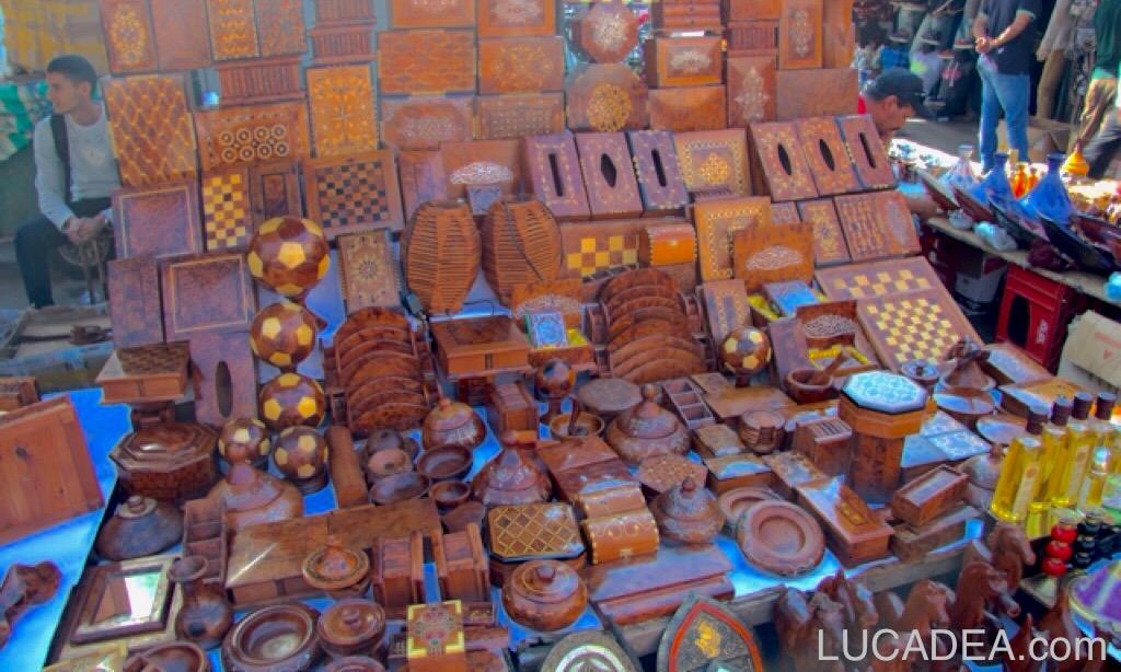Oggetti Tipici Del Marocco.Oggetti In Legno Marocchini Foto
