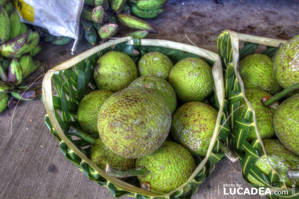 Frutta tropicale a Samoa