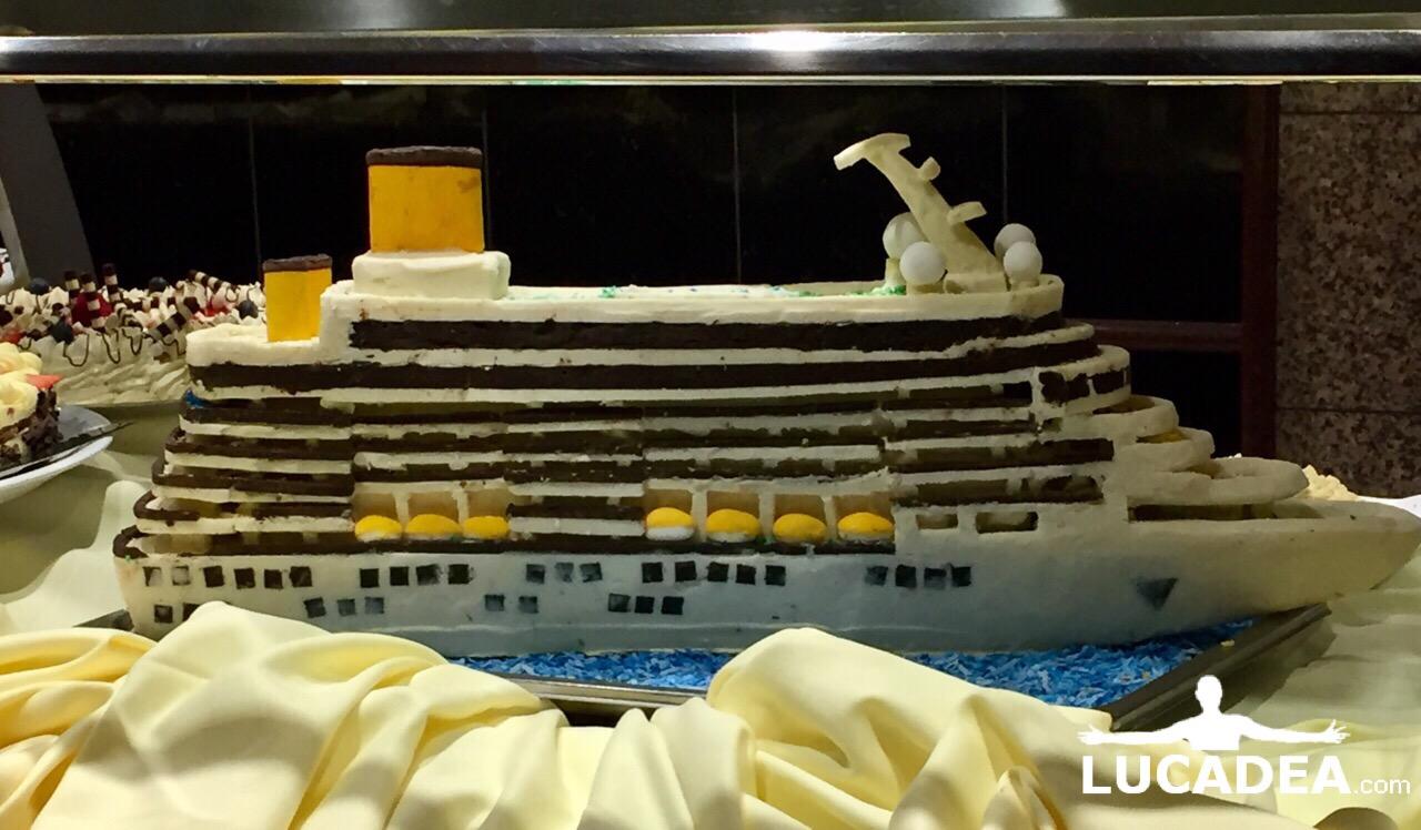 Modellino della nave