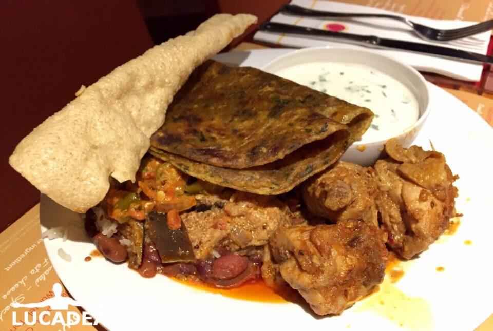 Piatto indiano misto
