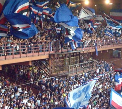 Sampdoria-Cherno More 2007/2008 Intertoto