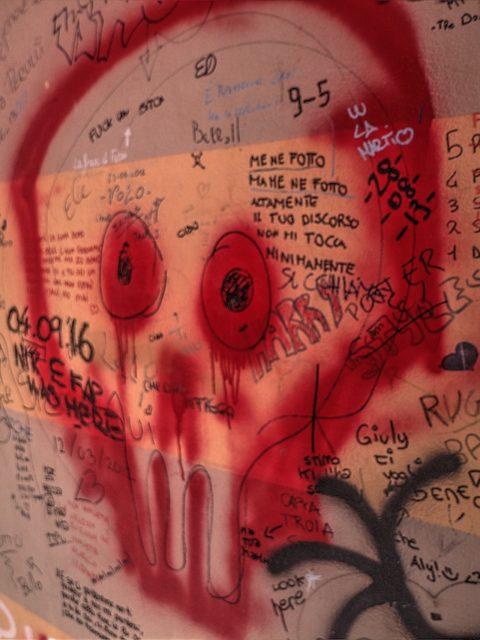 graffiti canala a Portobello