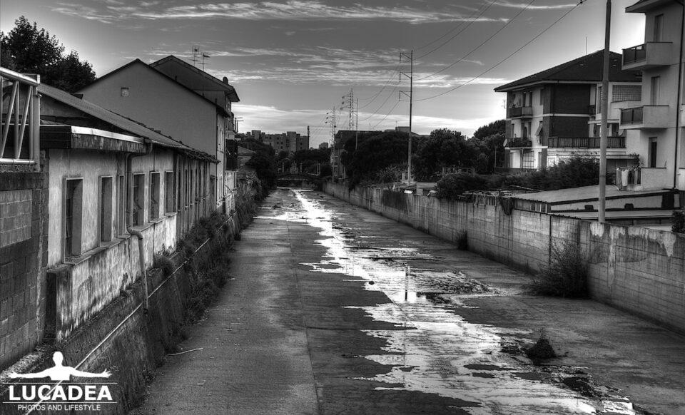 Il torrente Gromolo in estate