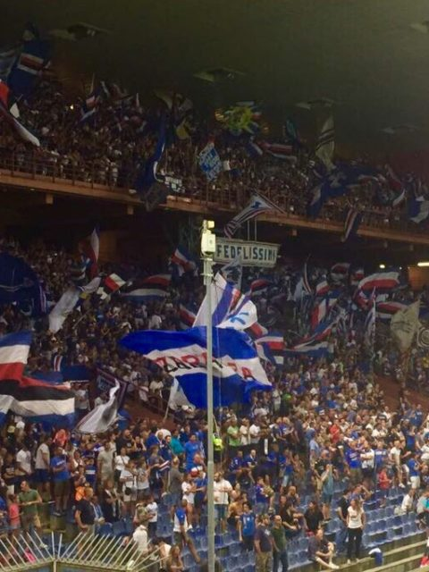 sampdoria-benevento 2017/2018