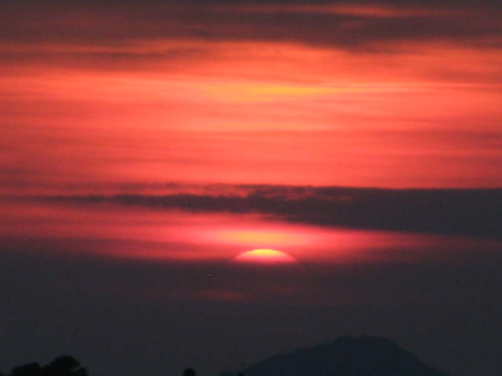 Il tramonto nei miei pensieri