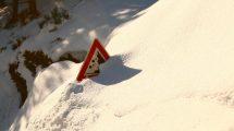 Neve verso Santo Stefano d'Aveto (foto)