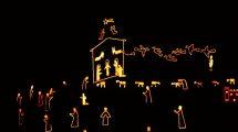Presepe a Manarola: il presepe luminoso più grande al mondo (foto)