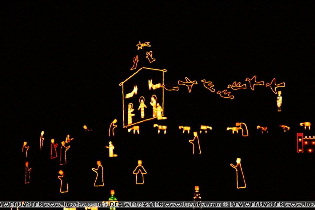Presepe a Manarola: il presepe luminoso più grande al mondo