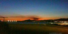 Incendio a Genova (foto)