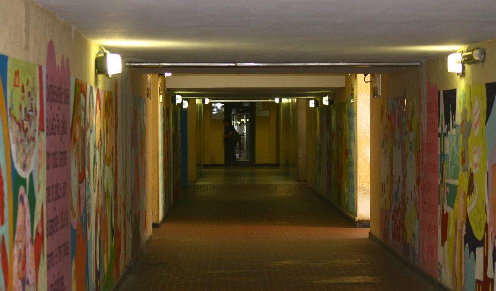 Murales sottopassaggio