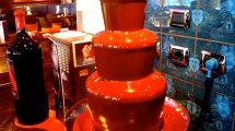 Una cascata di cioccolata (foto)
