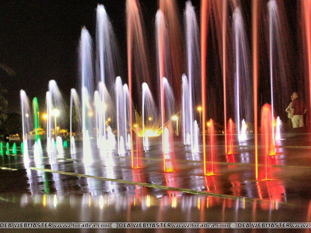 Fontana in passeggiata a Chiavari