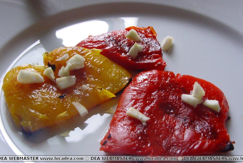 Peperoni alla griglia (foto)