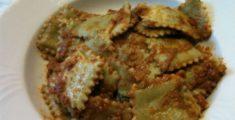 Ravioli al ragù di carne (foto)
