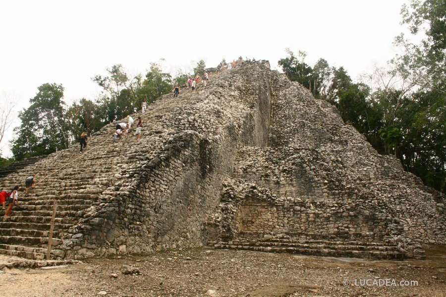 Le rovine Maya di Cobà in Messico