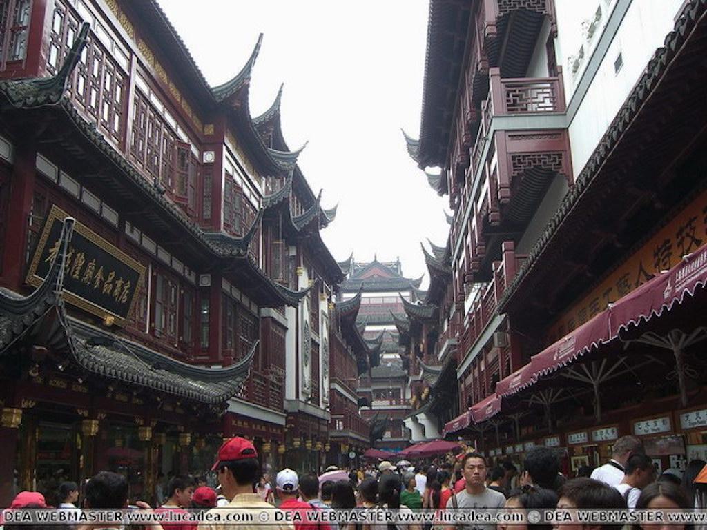 Palazzi antichi a Shanghai