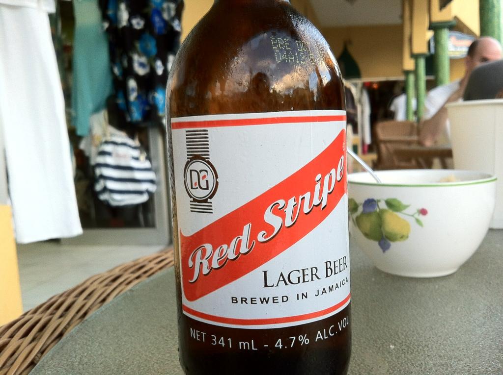 Birra Red Stripe, bionda jamaicana