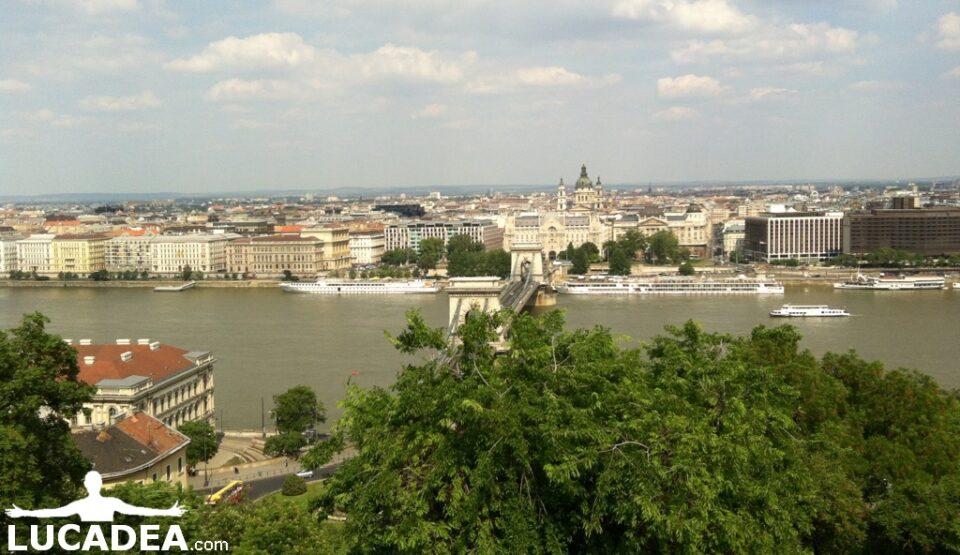 Vista di Budapest