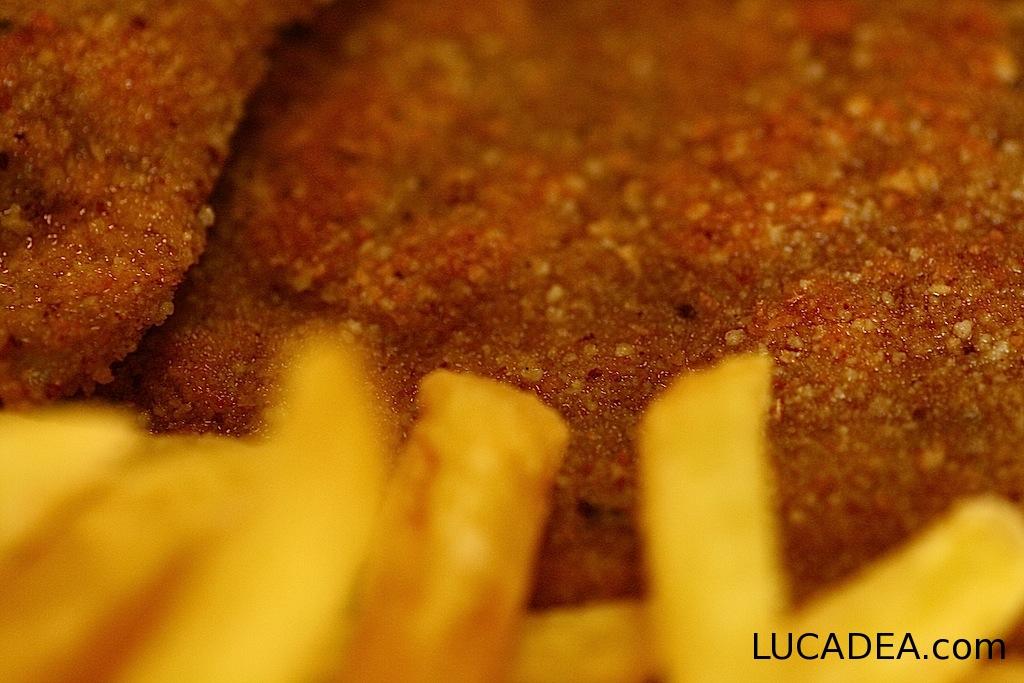 Cordon bleu e patatine fritte