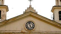 L'orologio della chiesa di Santa Maria di Nazareth