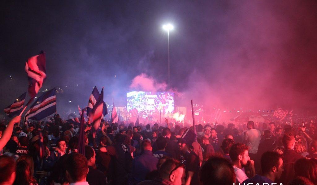 Sampdoria in serie A