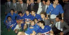 Sampdoria-Anderlecht 1989/1990 coppa delle Coppe