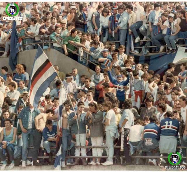 Milan-Sampdoria 1986/1987 spareggio Uefa