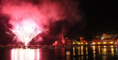 I fuochi d'artificio della Barcarolata 2012 (foto)