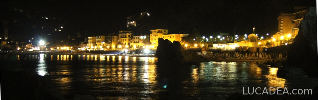 Monterosso by night