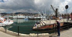 Panoramica del Porto Antico di Genova (foto)