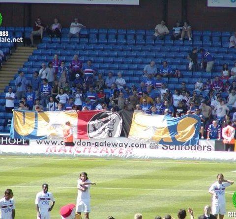 Crystal Palace-Sampdoria 2004/2005 amichevole